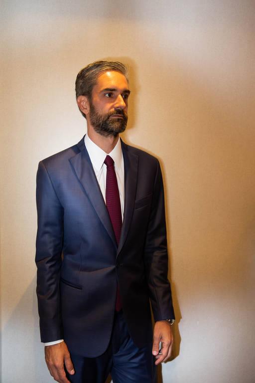 O advogado Augusto de Arruda Botelho