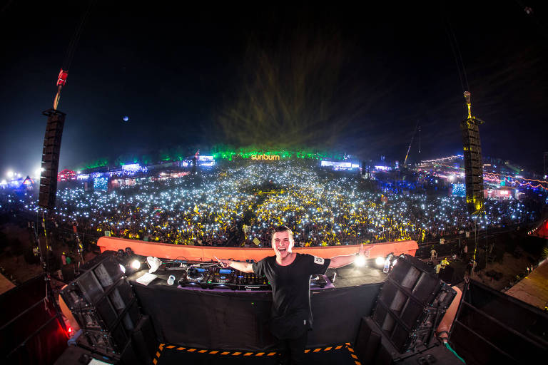 O DJ alemão Martin Garrix