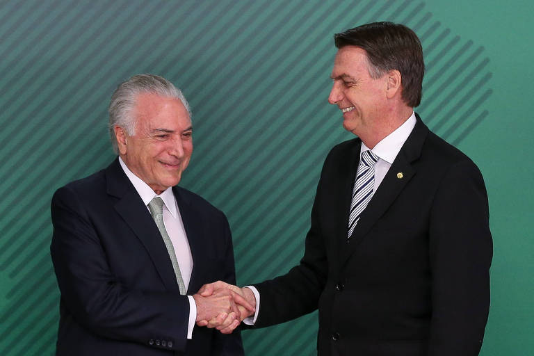 President-elect Jair Bolsonaro (PSL) meets president Michel Temer to discuss the transition