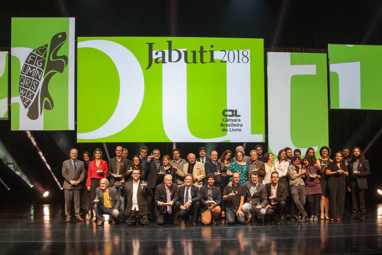Vencedores do Jabuti 2018