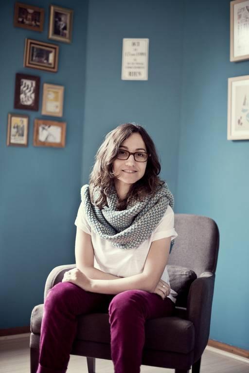 """A escritora Carol Bensimon, autora de """"Todos Nós Adorávamos Caubóis"""""""