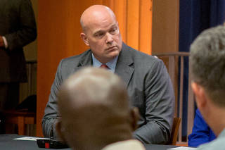 FILE PHOTO: FILE PHOTO: Chief of Staff to the Attorney General Whitaker attends roundtable discussion at Justice Department in Washington