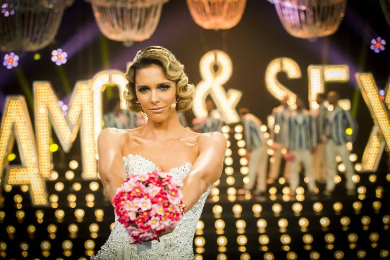 Fernanda Lima, a apresentadora do Amor & Sexo