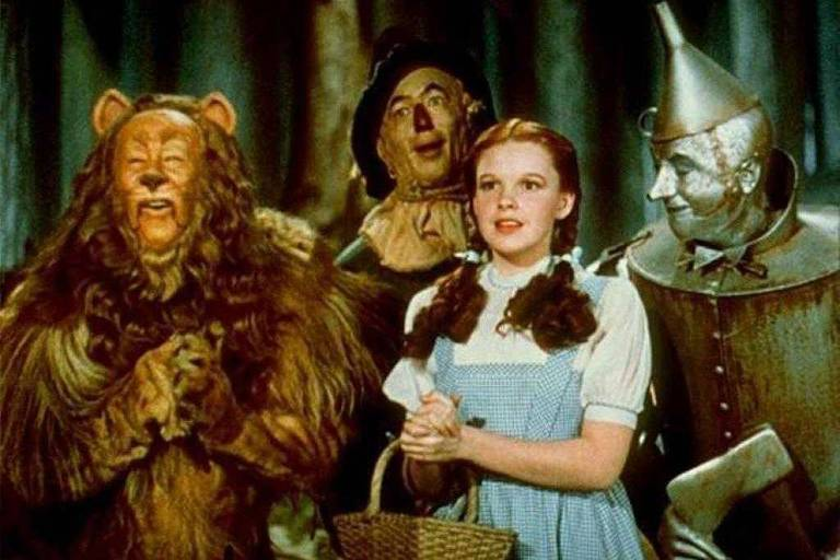 """Cena do filme """"O Mágico de Oz"""""""