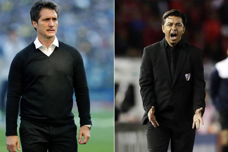 Guillermo Barros Schelotto e Marcelo Gallardo não contarão com atletas importantes neste sábado (24)