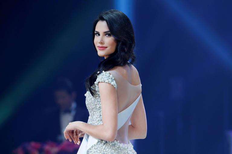 A vencedora do concurso Miss International 2018, a venezuelana Mariem Claret Velazco Garcia