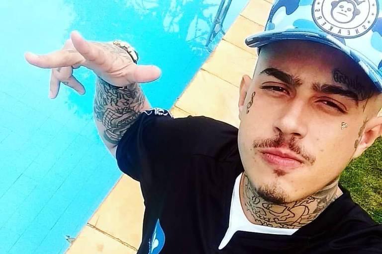 O cantor de funk Gabriel Medeiros