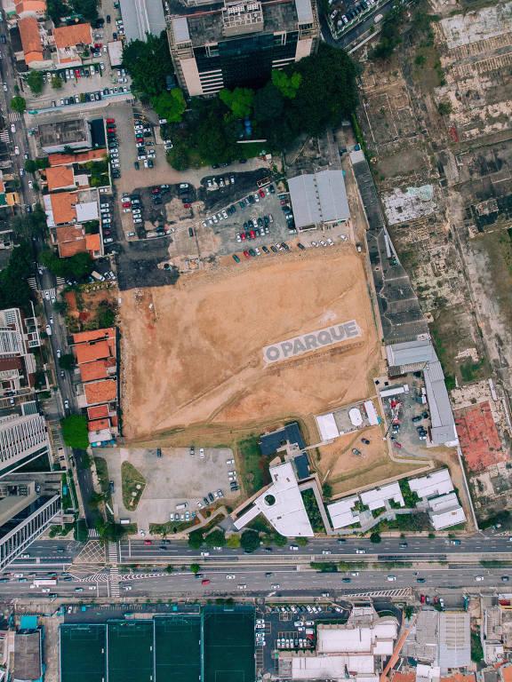 Terreno onde será construído o empreendimento O Parque, da Gamaro