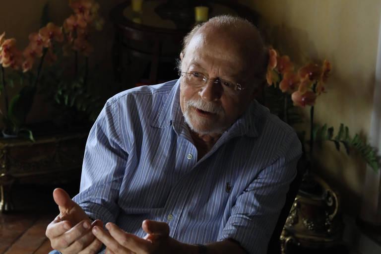 O ex-governador de São Paulo Alberto Goldman (PSDB) durante entrevista exclusiva à Folha em sua residência, em São Paulo