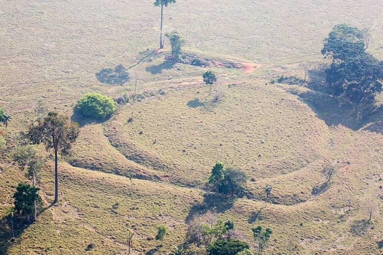 Geoglifo de aproximadamente 2.500 anos, localizado no Acre, tombado nesta sexta-feira (9) pelo Iphan