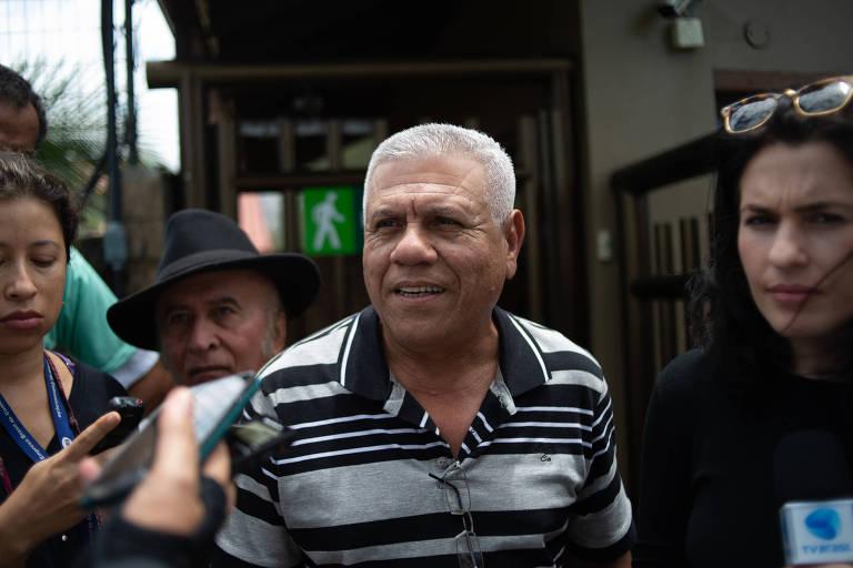 Amigo de infância do presidente Jair Bolsonaro, o aposentado João Evangelista, 63 anos, que o presenteou com bananas