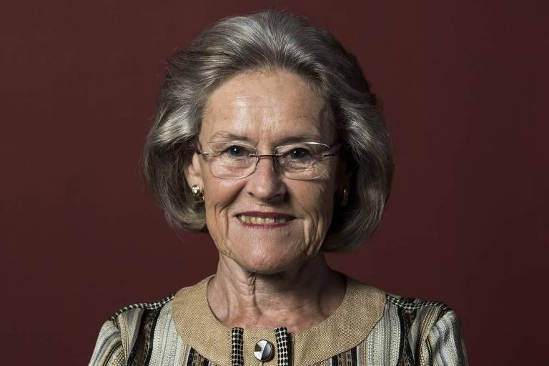 Hilde Schwab, presidente e cofundadora da Fundação Schwab para o Empreendedorismo Social, entidade co-irmã do Fórum Econômico Mundial