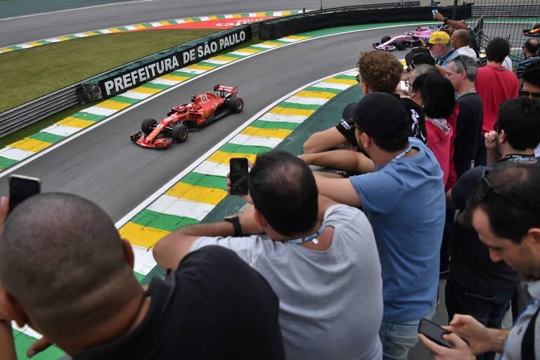 GP Brasil de F-1 - treino classificatório
