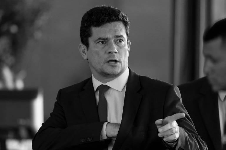 O juiz Sergio Moro, futuro ministro da Justiça do governo de Jair Bolsonaro