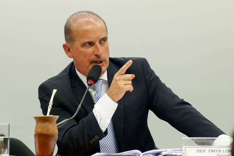 Onyx Lorenzoni, em comissão especial da Câmara