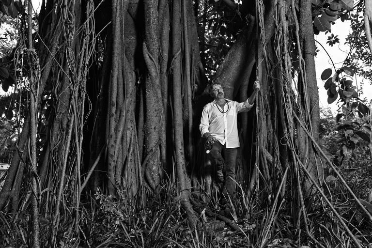 Retrato de Eugênio Scannavino, fundador do Projeto Saúde e Alegria e integrante da Rede Folha, produzido para o livro 'Feito no Brasil', de Paulo Vitale ****EXCLUSIVO EMPREENDEDOR SOCIAL 2018****