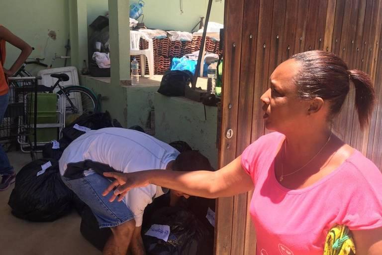 A técnica de enfermagem Dilma Ferreira, 46, uma das vítimas da tragédia de Niterói (RJ)