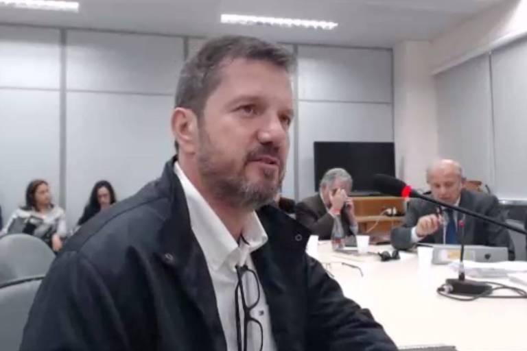 Fernando Bittar, dono do sítio de Atibaia, depõe em Curitiba em 12.nov.2018