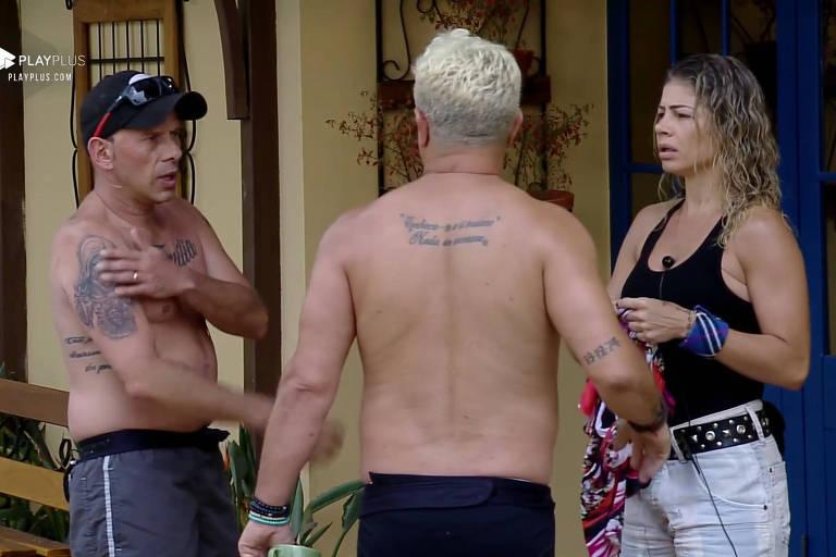Rafael Ilha tira satisfação com Catia Paganote sobre votação