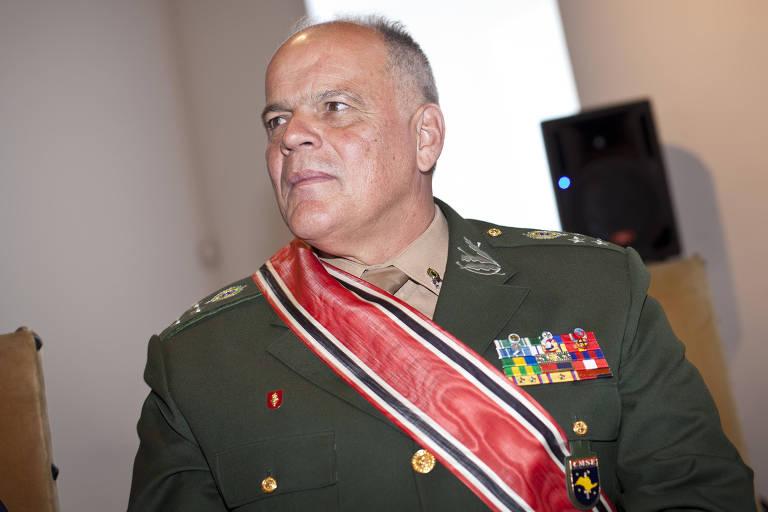 João Camilo Pires de Campos, general de Exército e futuro secretário de segurança de SP