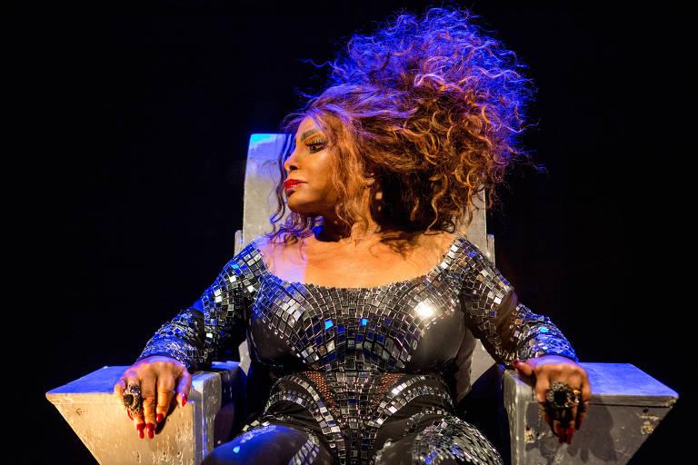 """A cantora Elza Soares que gravou """"Edmundo"""", uma adaptação do clássico instrumental de Glenn Miller """"In The Mood"""""""