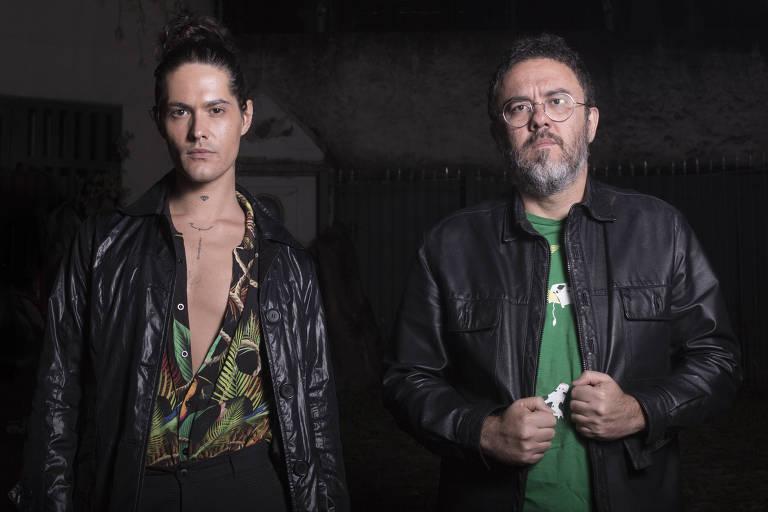 O cantor Filipe Catto e o produtor Régis Damasceno, parceiros no tributo a Nick Drake