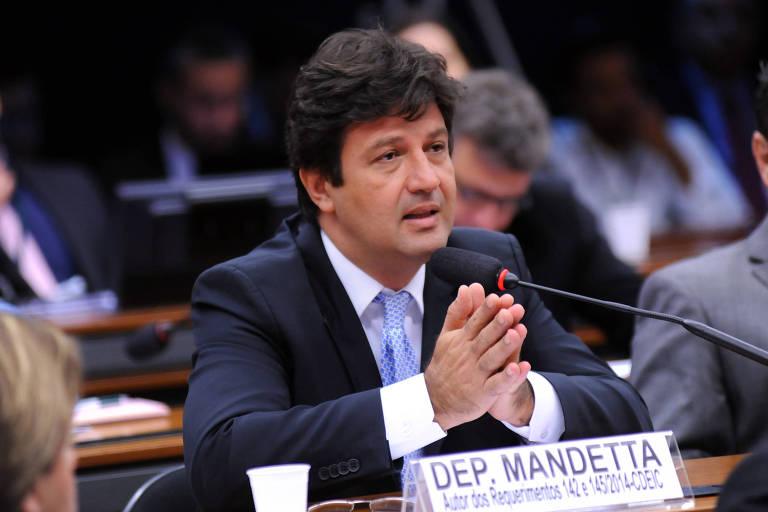 O deputado Luiz Henrique Mandetta