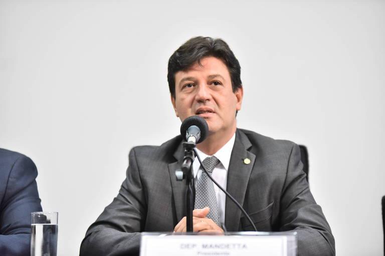 O deputado Luiz Henrique Mandetta (DEM-MS) é o futuro ministro da Saúde
