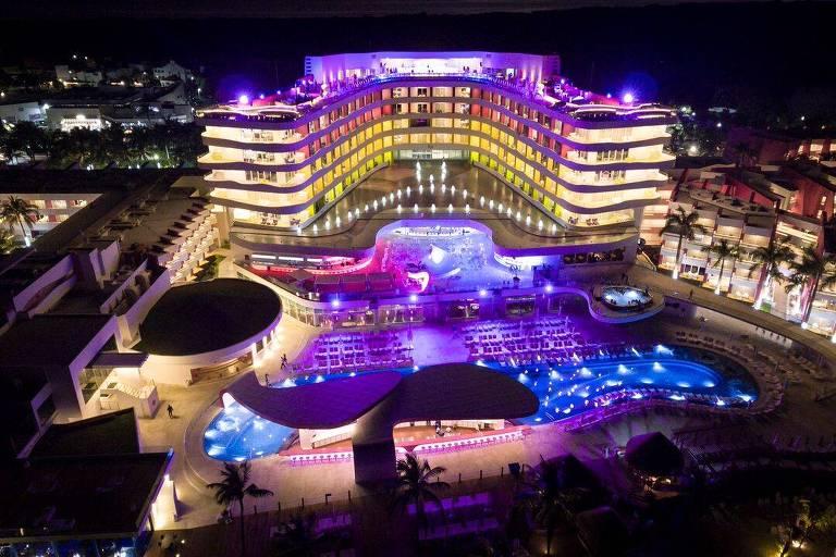 Resort erótico em Cancún
