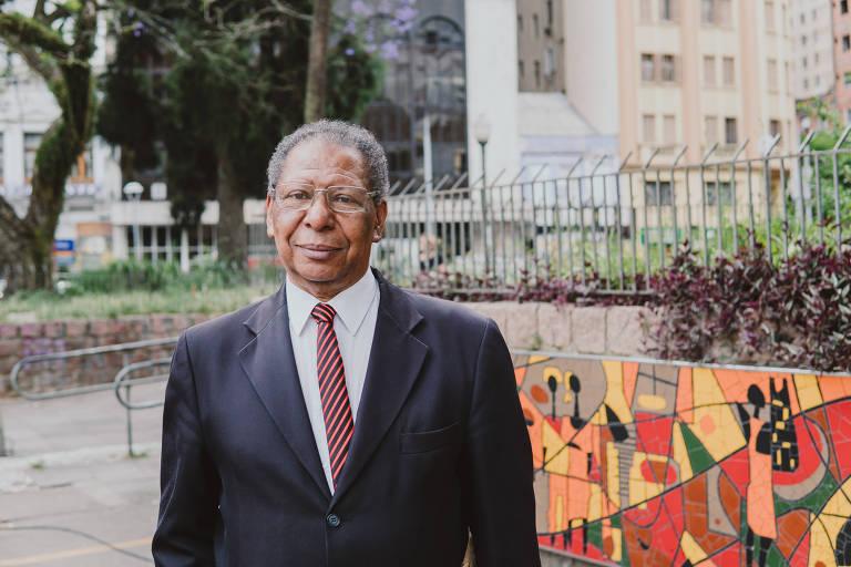 Retrato de Antônio Cortês que, em 1971, junto com outros três amigos, lançou a data do 20 de novembro como Dia da Consciência Negra