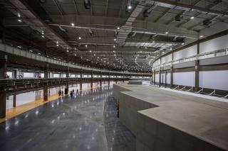 Instalações do Sirius, acelerador de partículas em construção em Campinas (SP)