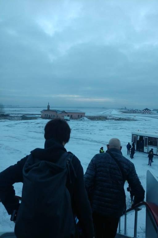 Retidos na Sibéria