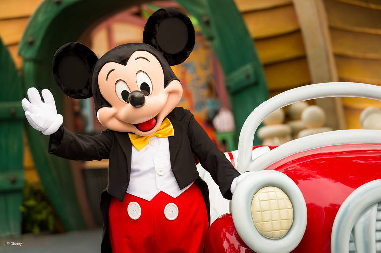 Mickey Mouse completa 90 anos