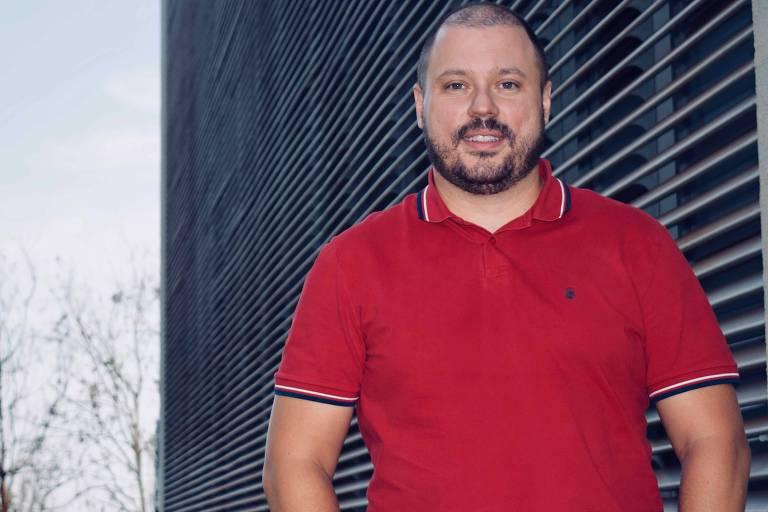 O sócio do laboratório de testes genéticos DGLab Rodrigo Ramos