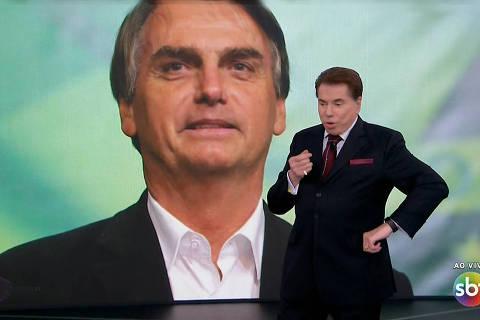 Com Bolsonaro, SBT reforça tradição de agrados a políticos
