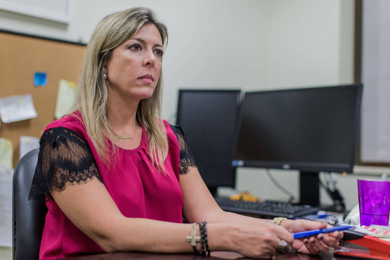 A procuradora da República Thaméa Danelon, que deixou o comando da força-tarefa da Lava Jato em São Paulo