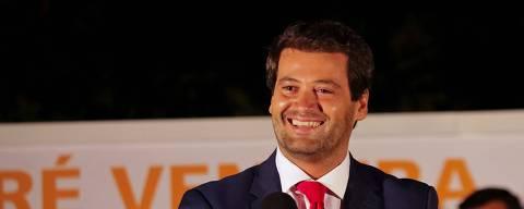 13 de julho 2017.  apresentação da candidatura de André Ventura à Câmara Municipal de Loures.  Foto: Divulgação / PSD