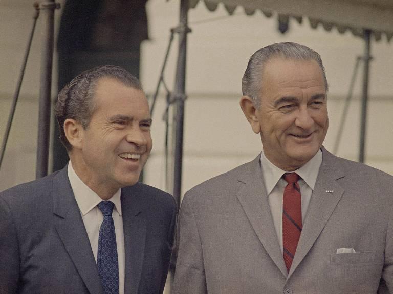 1968: Nixon é eleito presidente dos EUA e fala em unir os norte-americanos