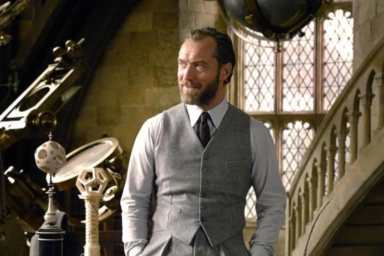 Com a ajuda de J.K. Rowling, Jude Law constrói um novo Dumbledore