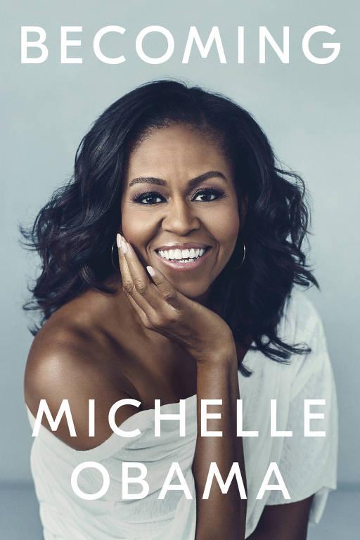 Capa do livro de Michelle Obama na versão em inglês