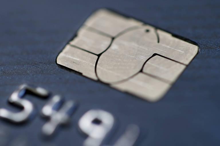 Chip de cartão de crédito