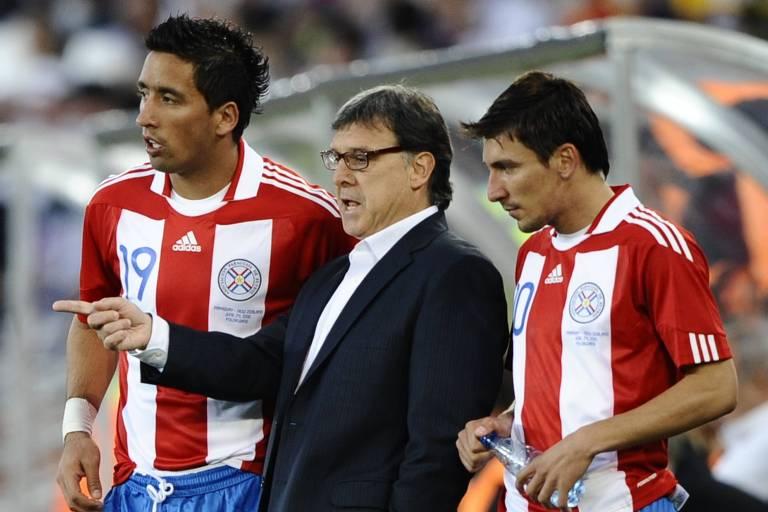Wainer esteve com Gerardo Martino na Copa do Mundo de 2010, trabalhando na seleção do Paraguai
