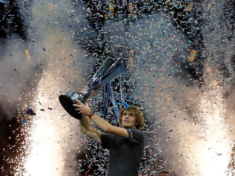 Alexander Zverev vence o ATP Finals