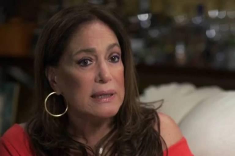 A atriz Susana Vieira fala sobre leucemia durante entrevista ao Fantástico