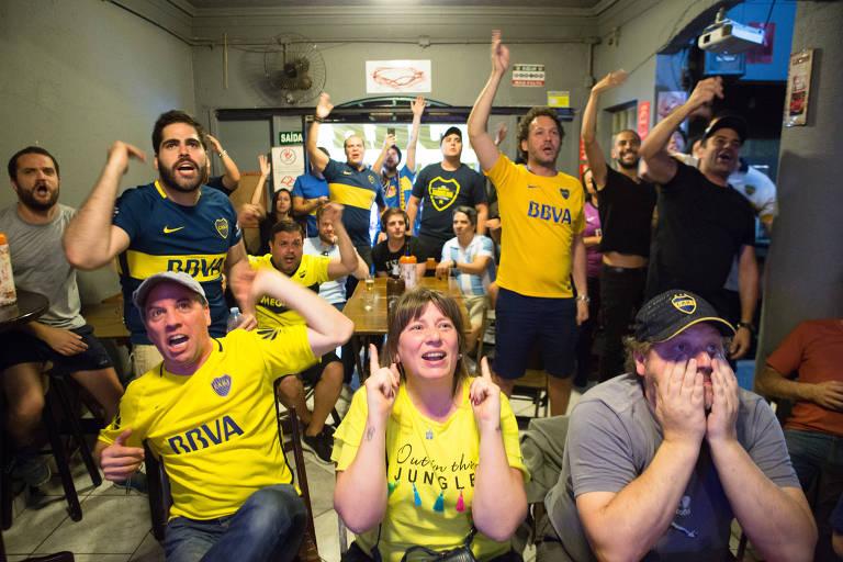 Boca Juniors e River Plate têm torcidas no Brasil