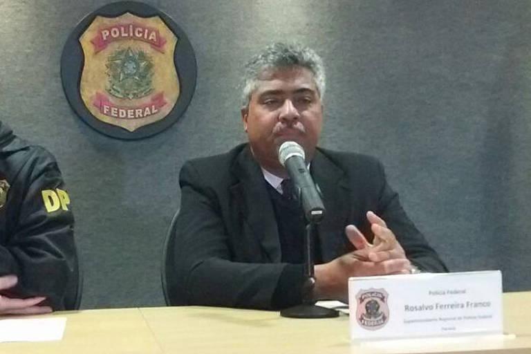 Delegado Rosalvo Franco, que também deverá ir para equipe de Moro