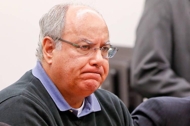 O ex-diretor da Petrobras Renato Duque, acusado de receber propina no esquema de corrupção da estatal