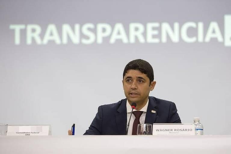 Wagner de Campos Rosário, ministro interino da Transparência, Fiscalização e Controladoria-Geral da União (CGU)
