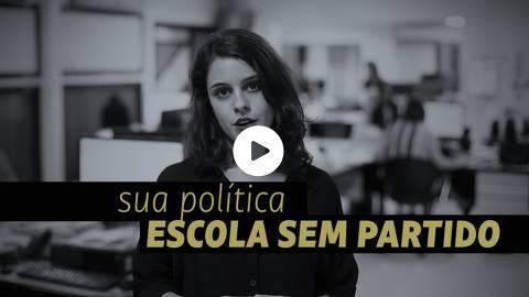 Frame do vídeo Escola sem Partido