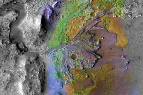 Local de pouso da missão da Nasa em Marte em 2020